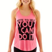 Chin-Up Racerback Tank Top