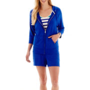 Liz Claiborne® Weekend Hoodie, Tank Top or Knit Shorts