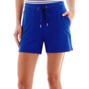 Liz Claiborne® Weekend Knit Shorts