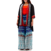 Bisou Bisou® Tunic Shrug, Seamless Cami or Beach Pants - Plus