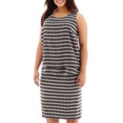 Bisou Bisou® Tiered Print Top or Print Tube Skirt - Plus