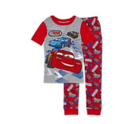 Disney Collection Cars Pajamas - Boys 2-10