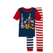 Disney Collection Mickey and Friends Pajamas - Boys 2-10