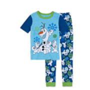 Disney Collection Olaf Pajamas - Boys 2-10
