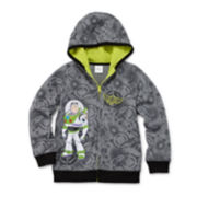Disney Collection Buzz Lightyear Fleece Hoodie - Boys 2-10