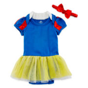 Disney Baby Collection Snow White Bodysuit Costume Set - Girls newborn-24m