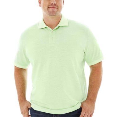 jcpenney.com | The Foundry Supply Co.™ Short-Sleeve Oxford Piqué Polo–Big & Tall