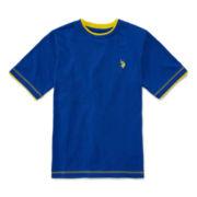 U.S. Polo Assn.® Short-Sleeve Solid Tee - Boys 8-18