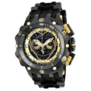 Invicta® Venom Mens Black Dial Gold-Tone Stainless Steel Bracelet Strap Watch 20430