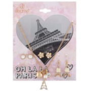 Decree® Oh La La Paris Necklace & Earring Set