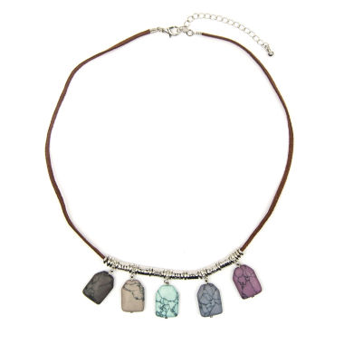 jcpenney.com | Arizona Suede Cord Drop Bead Necklace
