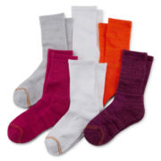 Gold Toe® 5-pk. Space-Dye Crew Socks