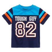 Okie Dokie Short-Sleeve Football Tee - Baby Boys newborn-24m