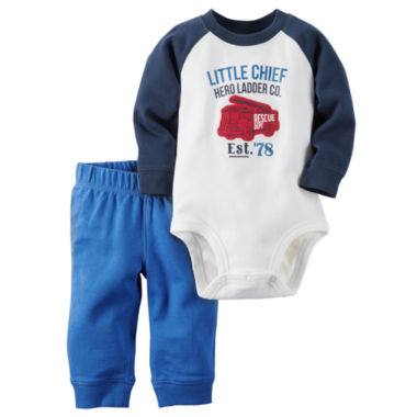 jcpenney.com | Carter's® Bodysuit and Pants Set - Baby Boys newborn-24m
