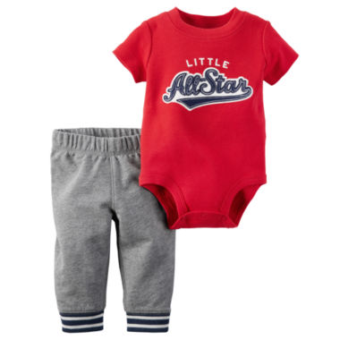 jcpenney.com | Carter's® 2-pc. Red All Star Bodysuit and Pants Set - Baby Boys newborn-24m