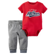 Carter's® 2-pc. Red All Star Bodysuit and Pants Set - Baby Boys newborn-24m