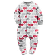 Carter's® Firetruck Microfleece Sleep-N-Play - Baby Boys newborn-24m