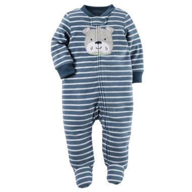 jcpenney.com | Carter's® Navy Dog Sleep & Play - Baby Boys newborn-24m