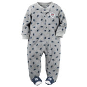 Carter's® Touchdown Microfleece Sleep-N-Play - Baby Boys newborn-24m