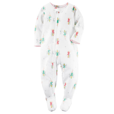 jcpenney.com | Carter's® Girl Long-Sleeve Fairy Footed Pajamas - Toddler Girls 2t-5t