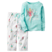 Carter's® 2-pc. I Fairy Sleepy Fleece Pajama Set - Baby Girls newborn-24m