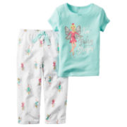 Carter's® 2-pc. Short-Sleeve I Fairy Sleepy Pajama Set - Baby Girls newborn-24m