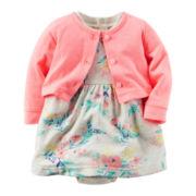 Carter's® 2-pc. Dress Set - Baby Girls newborn-24m