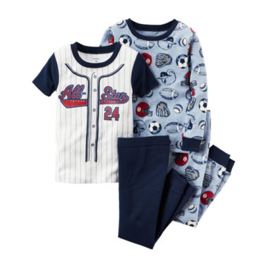 jcpenney.com | Carter's® 4-pc. Pajama Set - Toddler Boys 2t-5t