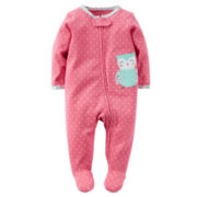 Carter's® Long-Sleeve Owl Sleep & Play - Baby Girls newborn-24m