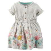 Carter's® Short-Sleeve Floral Dress - Baby Girls newborn-24m