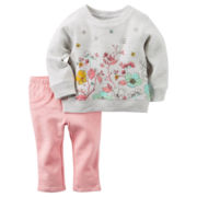 Carter's® 2-pc. Sweater and Pants Set - Baby Girls newborn-24m