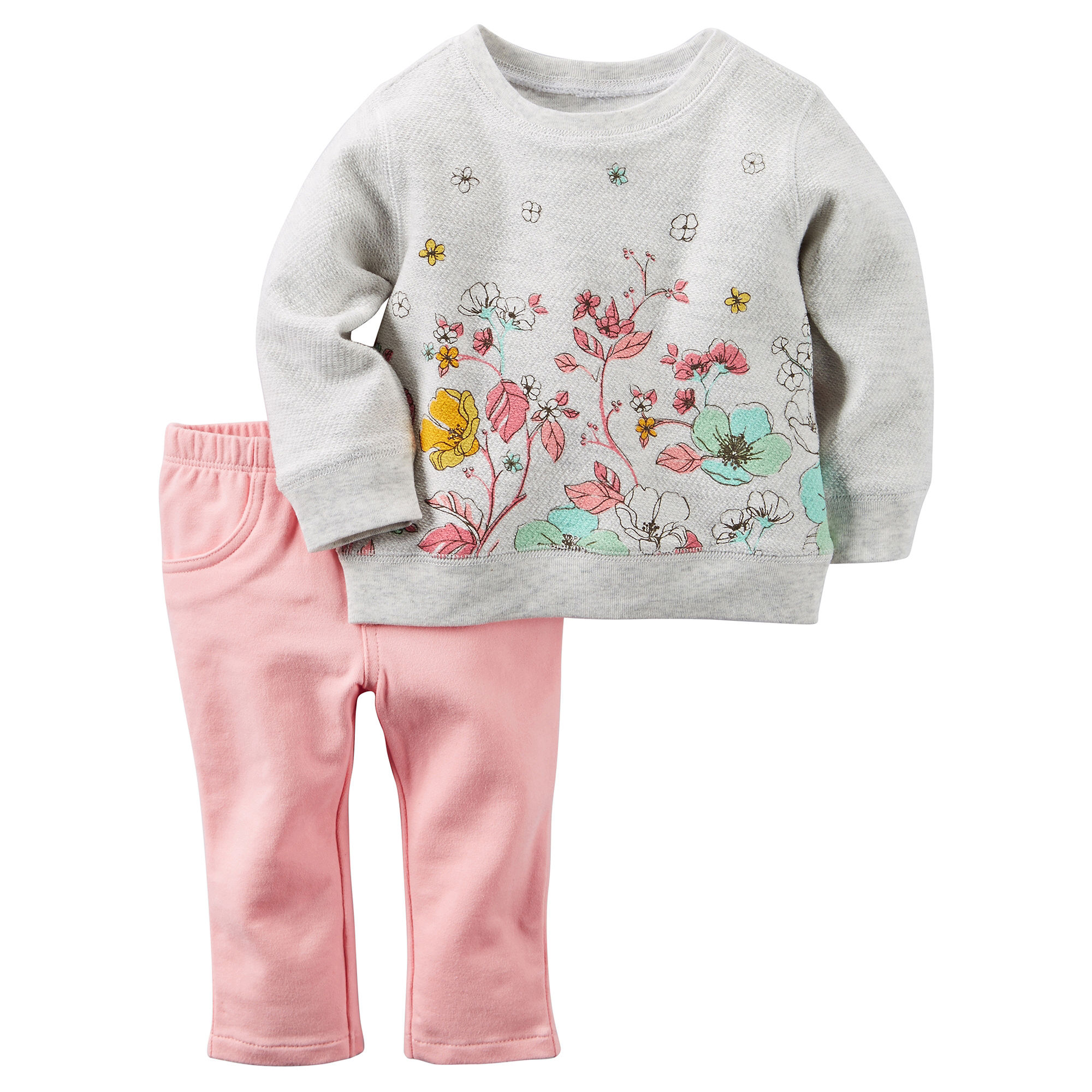 e5853f02df3780 WTF!! Carter's 2-pc. Sweater and Pants Set - Baby Girls newborn-24m