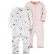 Carter's® 2-pc. Sleep-N-Play Set - Baby Girls newborn-24m