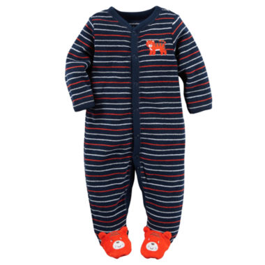 jcpenney.com | Carter's® Tiger Terry Sleep-N-Play - Baby Boys newborn-9m
