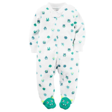 jcpenney.com | Carter's® Terry Monster Sleep-N-Play - Baby Boys newborn-9m
