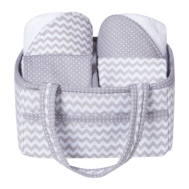 jcpenney.com | Trend Lab® Chevron 5-pc. Baby Bath Gift Set
