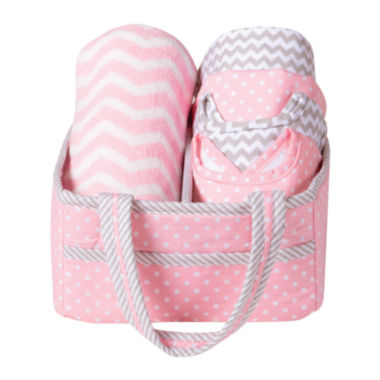 jcpenney.com | Trend Lab® Pink Sky 6-pc. Baby Care Gift Set