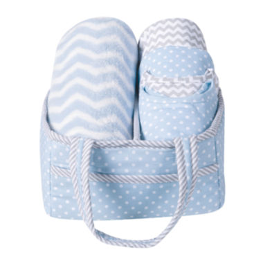 jcpenney.com | Trend Lab® Blue Sky 6-pc. Baby Care Gift Set