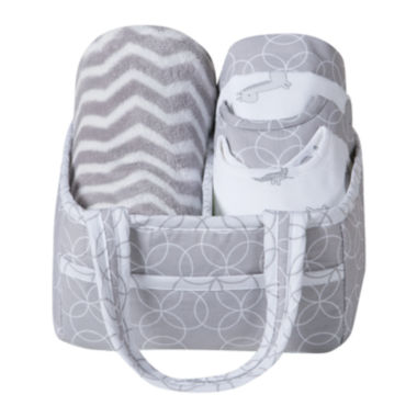 jcpenney.com | Trend Lab® Safari Chevron 6-pc. Baby Care Gift Set