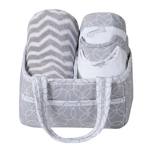 Trend Lab® Safari Chevron 6-pc. Baby Care Gift Set