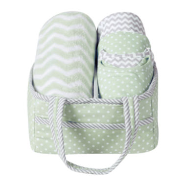 jcpenney.com | Trend Lab® Sea Foam 6-pc. Baby Care Gift Set