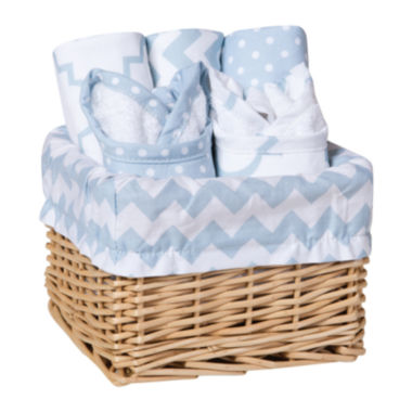 jcpenney.com | Trend Lab® Sky 7-pc. Feeding Basket Gift Set - Blue