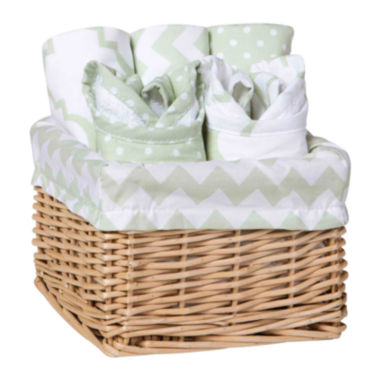 jcpenney.com | Trend Lab® Sea Foam 7-pc. Feeding Basket Gift Set
