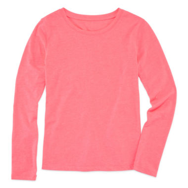 jcpenney.com | Arizona Long-Sleeve Solid Fave Tee - Girls 7-16