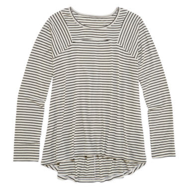 jcpenney.com | Arizona Long-Sleeve Seamed Tunic - Girls Plus