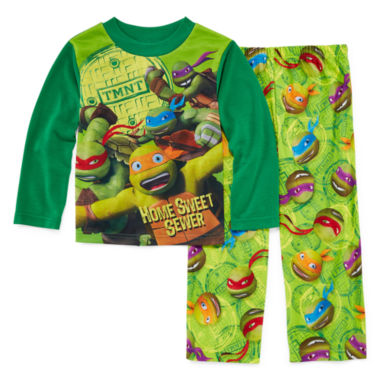 jcpenney.com | Licensed Character Hooded® Teenage Mutant Ninja Turtles 2-pc. Sleep Pants Set - Boys 4-12