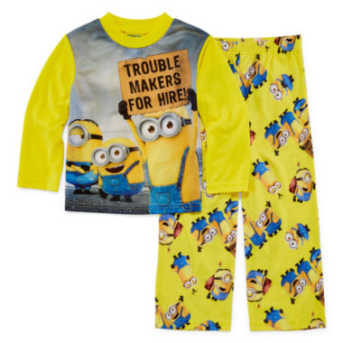 jcpenney.com | Licensed Character Minion 2-pc. Sleep Pants Set - Boys 4-12
