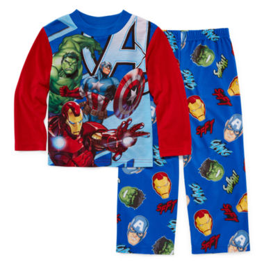 jcpenney.com | Licensed Character Hooded® Avengers 2-pc. Sleep Pants Set - Boys 4-12