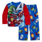 Licensed Character Hooded® Avengers 2-pc. Sleep Pants Set - Boys 4-12