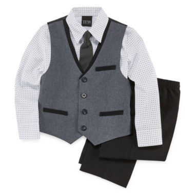 jcpenney.com | TFW 4-pc. Vest Set - Preschool Boys 4-10